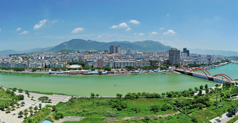 仙游鲤城全景