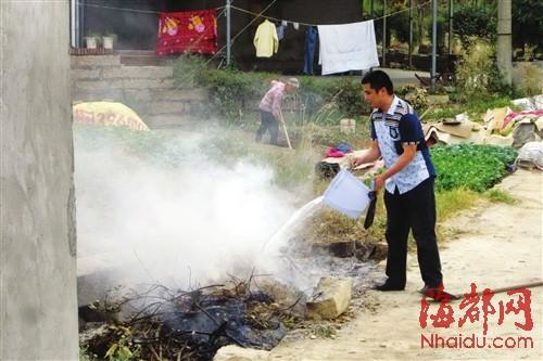 莆田莘郊村封闭乱焚烧的垃圾点 近期将重新选