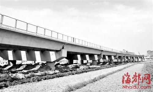黄石高架桥是湄渝高速莆田段最长的高架桥