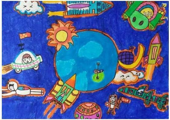 """""""国珍杯""""莆田少儿素养绘画大赛:我要做一个拥有正能量的追梦少年图片"""